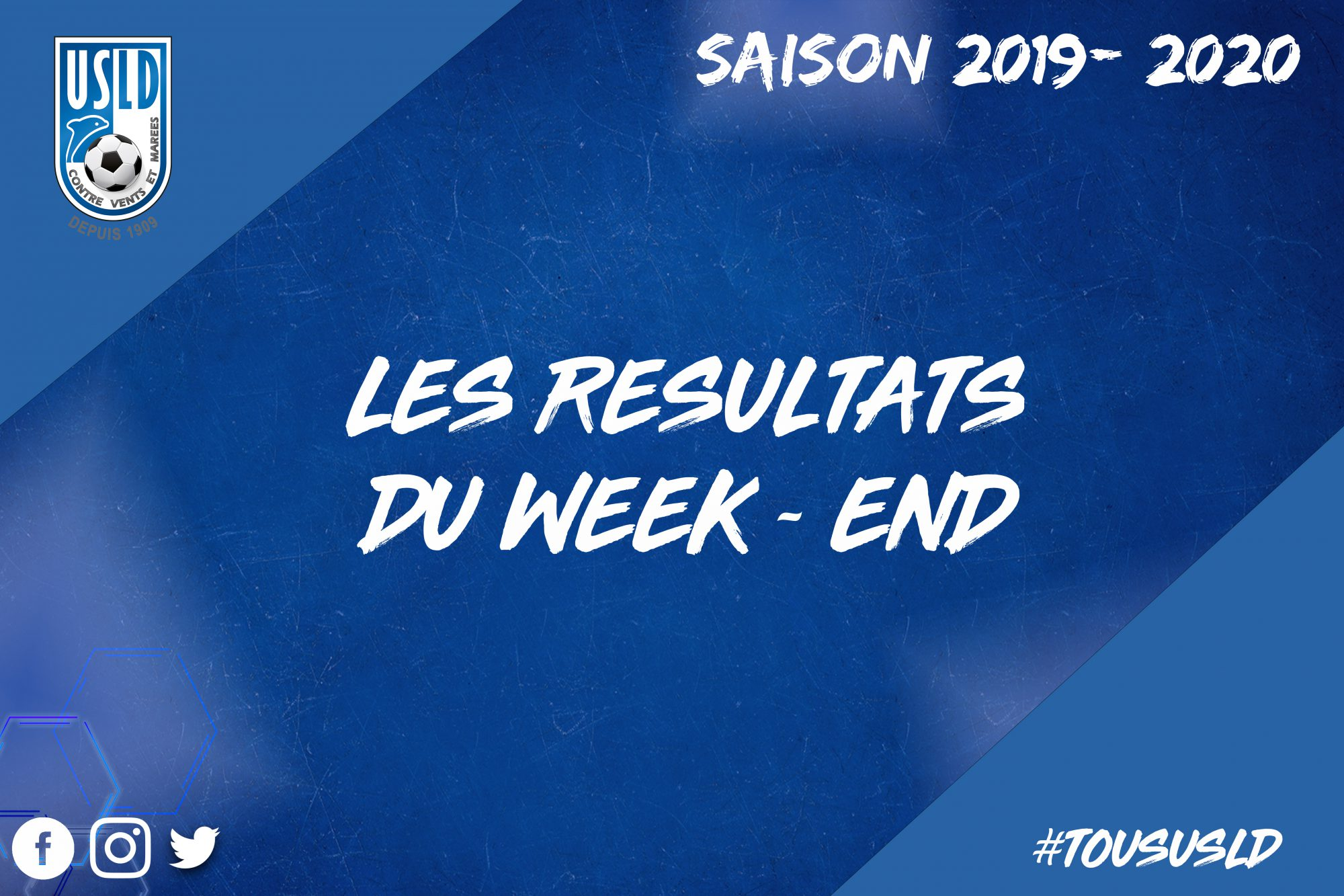 résultats week-end