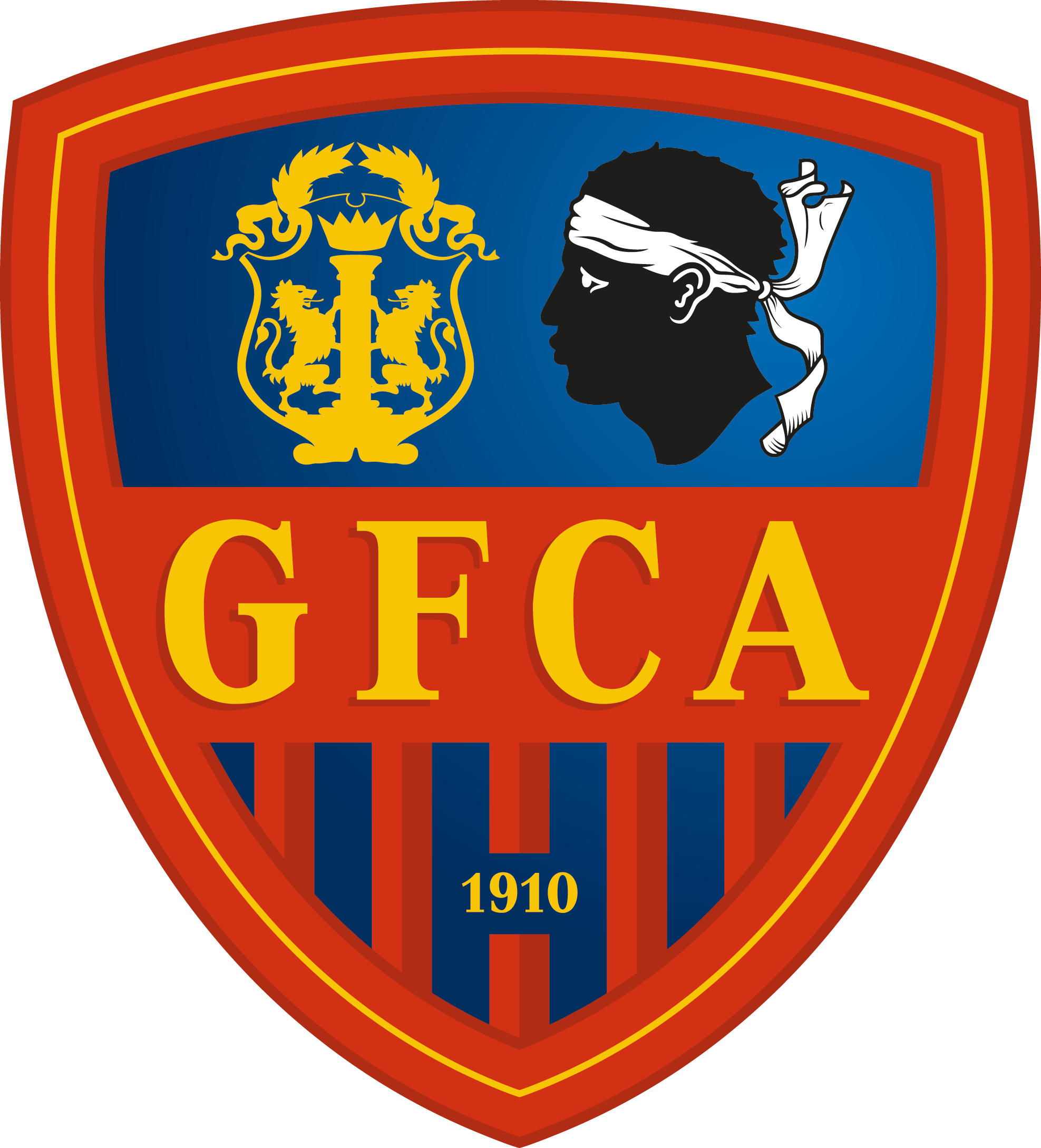 G.F.C. Ajaccio Logotype