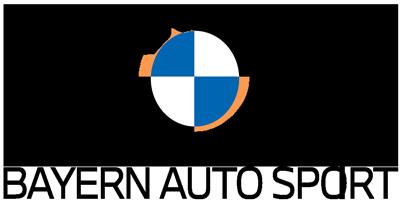 BAYERN AUTO SPORT BLANC + LOGO2